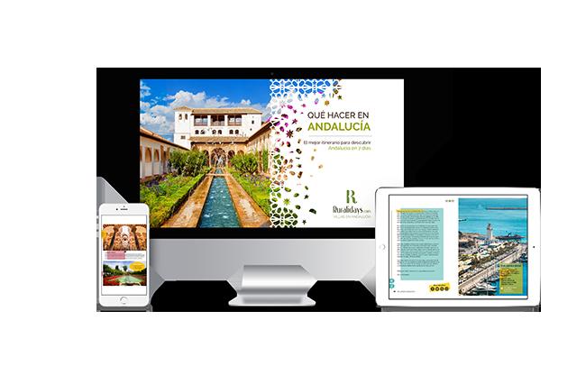 Vorstellung des Rurlalidays.com- Reiseführers für Andalusien